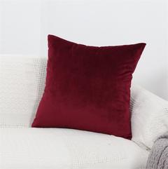 Nordic Fresh Premium Velvet Pillow Covers Sofa Cushion Bedding Pillow Car Seat Backrest Pillowcase 7 45*45 cm