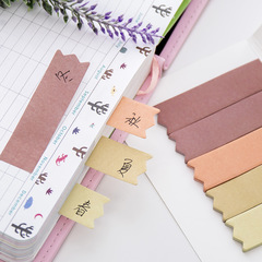 100 Sheets Sticky Note Guestbook Gradient Colors Message Note Paper N times Post