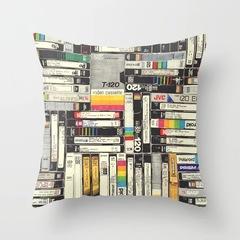 Classic Record Camera Pillow Case for Car Office Lumbar Home Textile Sofa Cushion Cover Pillowcase 7 45*45cm