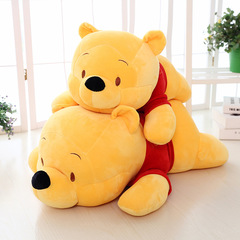 Winnie the Pooh Cartoon Pillow Doll Plush Toy Kids Baby Comfort Doll Toys Children Bedroom Pillows Winnie the Pooh 55cm