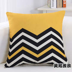 [2000-200] Geometric Sofa Cushion Pillow Cover for Soft Decoration Bedroom Lumbar Pillowcase 3 45*45cm