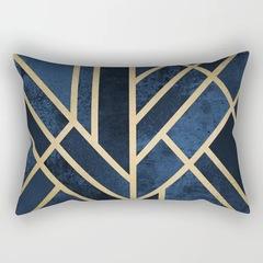 [200-10] Geometric Letters Lumbar Pillow Cushion Cover Home Sofa Pillow Case Bedroom Pillowcase 5 30*50cm