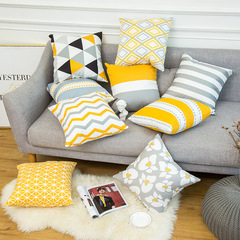 Nordic Style Geometric Pillow Covers Home Decorative Sofa Cushion Bedding Pillowcase 1 45*45cm