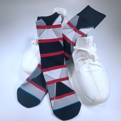 Men's tide socks STANCE brand socks 100% cotton, breathable, comfortable, very beautiful a free size free size