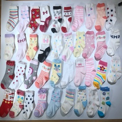 Baby socks, high quality cotton, very comfortable, very cute, three pairs of one bag Picture style random 3 pairs as the picture shows