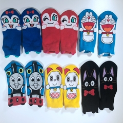 Baby socks, high quality cotton, very comfortable, very cute, three pairs of one bag Style 2 3-8 years old
