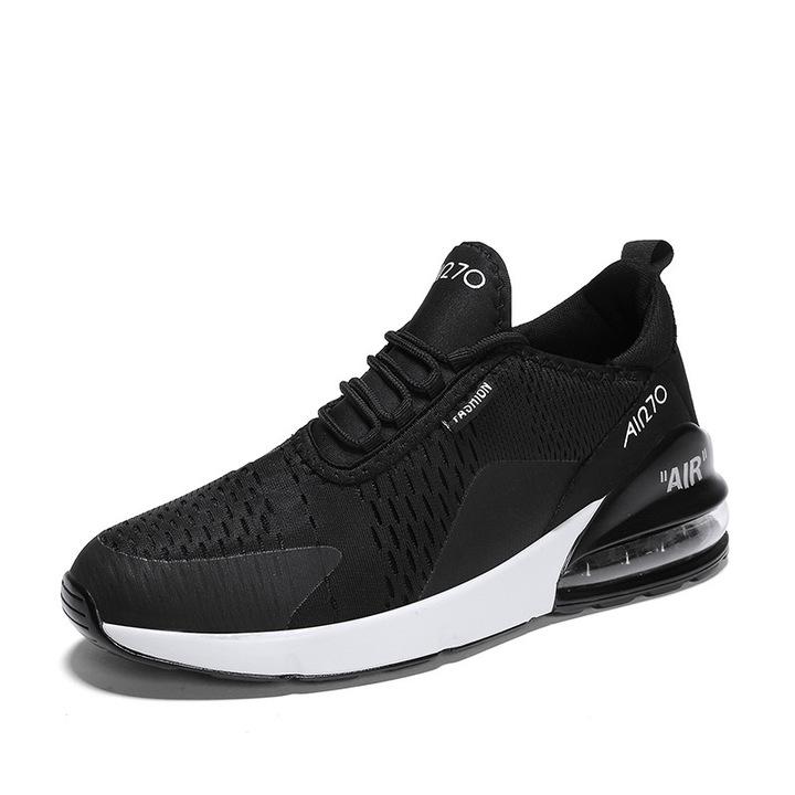 2019 large size Nike air cushion leisure sports running shoes black 35