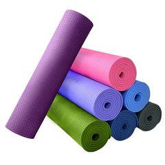 Non-slip thickened texture 6mm yoga mat random color Random 6mm