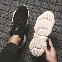 2019 new sports fashion casual trend basketball running multi-functional shoes black 39