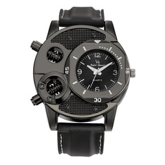 New men's watch leisure sports should trend silicone watch black same
