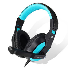 Genuine canlene ct-770 headphones for wearable cable games blue