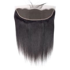 13*4 real wig hair piece women straight hair lace accessories human hair black 8 inch