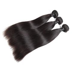 100% human hair 12 inch Real women straight hair curtain black 8 inch