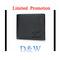 Men's Bifold Leather Wallet Limited Promotion Credit Card Holder Billfold Purse Clutch Black one Size