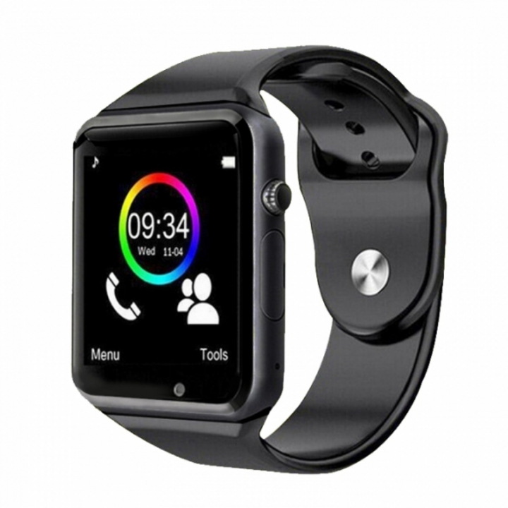A1 Smart Watches SIM/TF Bluetooth Sport WristWatch Smartwatch For Android Phone Infinix Camera black one size