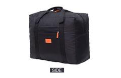 Travel Pouch waterproof Unisex Travel Handbags Women Luggage Travel Folding Bags Large Capacity Bag Black one size