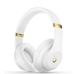 Beats studio3 Wireless OverEar Headset Bluetooth Music Headphones Pure ANC Noise Reduction Earphones White&Gold