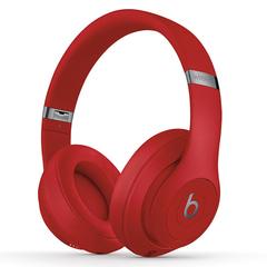 Beats studio3 Wireless OverEar Headset Bluetooth Music Headphones Pure ANC Noise Reduction Earphones Red&Silver