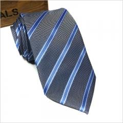 Men's Fashion Accessories Men's Business Ties Wedding Ties Bow Ties for Men Men's Suits grey one size