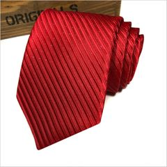 Men's Fashion Accessories Men's Business Ties Wedding Ties Bow Ties for Men Men's Suits red one size