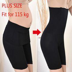 Seamless Women High Waist Slimming Panties Knickers Shapewear Underwear Body Shaper Bustiers Corsets Black 4XL