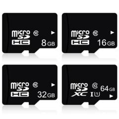 Micro SD Card - 16GB Standard - Black black Sandisk 16GB With Adapter black Tf card 4G OEM