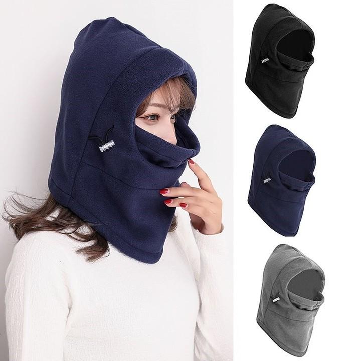 3c1fc98ed56 Face Mask for Bike Riding Kids Fleece Winter Hat   Cold Weather Face Mask    Neck