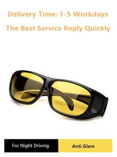 Night Vision Glasses   with anti glare lenses+ Anti Blue Light  Mobile Phone Computer Radiation Yellow
