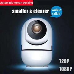 CCTV camera Wifi camera wifi IPcamera 360°HD automatic tracking & body tracking Remote monitoring white 720P