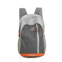 Unisex Casual Backpack  Waterproof Nylon15L&20L Backpacks For Adult & Children Travel Backpack men orange small