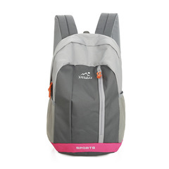 Unisex Casual Backpack  Waterproof Nylon15L&20L Backpacks For Adult & Children Travel Backpack men pink large