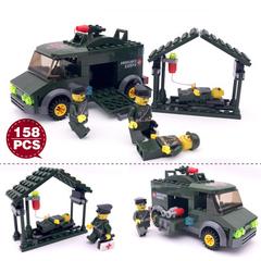 Building Brick Toys for children Assembled Model Kit Boys Girl Spliced truck Enlighten Puzzle KY6032 Normal