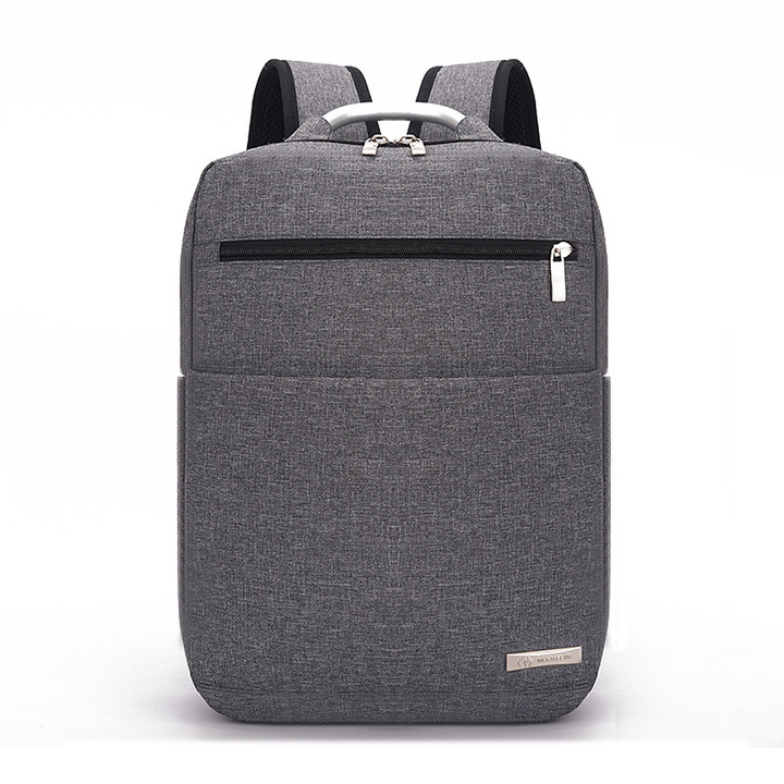 2018 New 15.6inch Laptop Backpack England Style Bookbags Waterproof Nylon Travel  Backpack grey 15.6inch 12e2d5e0f3085