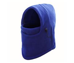 Winter Warm Windproof Ski Mask Motorcycle Cycling Face Mask Fleece Full Face Masks Headwear blue