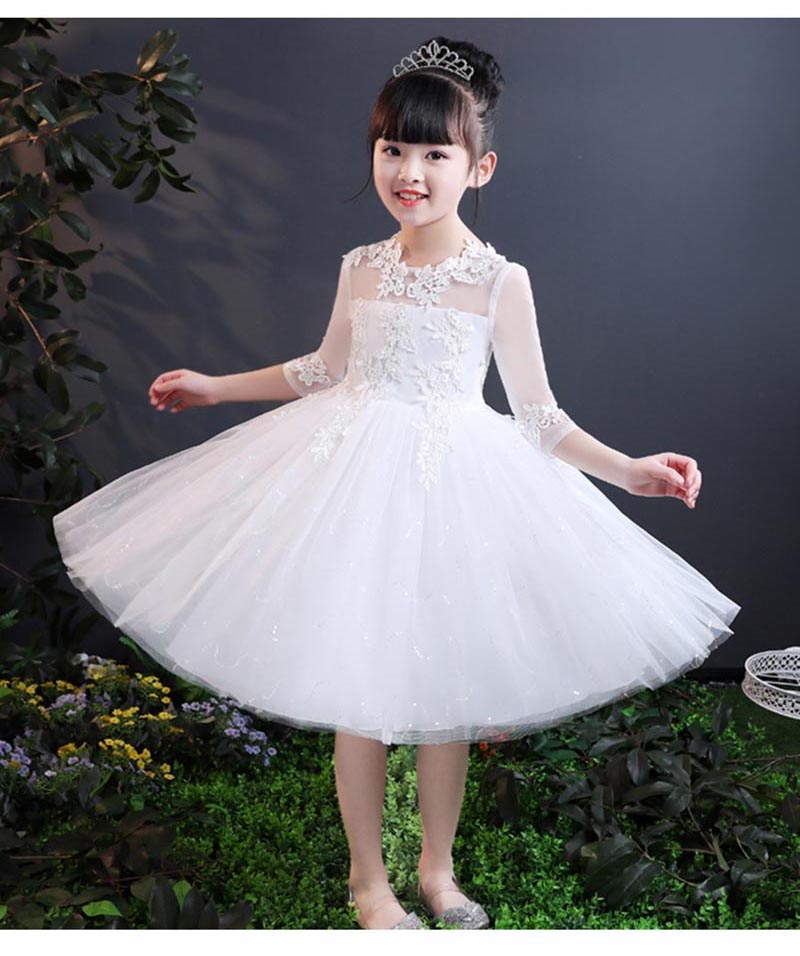 ... Party Dresses Flower Formal Wedding Birthday Ball Gown of 3-14 white  3t  Product No  9939680. Item specifics  Seller SKU CL-D-0285-White-S110   Brand  ... 90791d3775e3