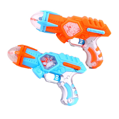 Electric Light Music Gun Plastic Flash Toys for Kids Outdoor Combat Game Children Boys Birthday Gift