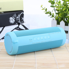 Portable Bluetooth Speakers with Stereo Sound Water Dust Proof 12h Play-time Built-in Power Bank blue normal