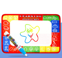 Kids Magic Water Drawing Book Learning Water Coloring Book Muti-using Drawing Board Early Education normal 30*15cm