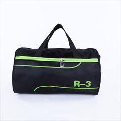 Barrel-shape Unisex Travel Handbags Shoulder Bag Casual Nylon Bag Pack For Men Duffle Bag green large