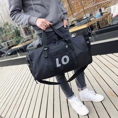 Unisex Waterproof Bag ravel Bags Carry On Luggage Shoulder/Handbags Duffle Bag black large