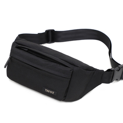 Fashion Simple Solid Waist Packs 2018 New High Quality Waterproof Nylon Waist Bag Casual Belt Bag back wist bag