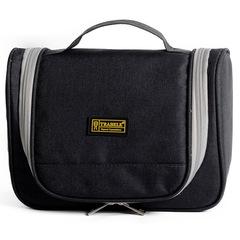 Men Travel Storage Bag Waterproof Hanging Washing Bag Large Capacity Casual Organizer Bag black large