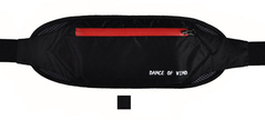 Hot Sale Waterproof Nylon Waist Packs For Women Pillow Shape Unisex Back Waist Bag Belt Bag black waist shoulder wallet