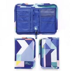 Passport Wallet Holder Travel Waterproof Credit Card&Money Bag Accessories Storage Organizer blue wallet