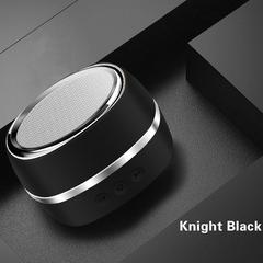 New Wireless Bluetooth 4.2 Speaker Protable Outdoor Mni Bluetooch Speaker black One