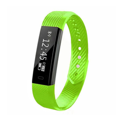 Fitness Tracker Smart Watch with Heart Rate Monitor Pedometer Sleep Monitor Calorie Step Counter green 230*16.10*10.09mm