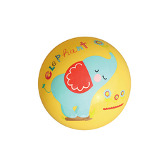 Outdoor Kdis Toys Kindergarten Children Basketball Hand Patted 9 Inch Patted Ball yellow 22cm