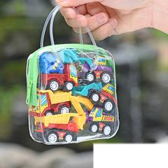 6 Pcs Children's Mini Engineering Car Model Pull Back Car Suit Engineer Vehicles Car Model Toy Sets engineering 4.3*3.2*3.1cm