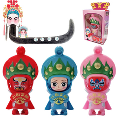 Chinese Sichuan Opera Face Changing Doll Collection Gift Toy random 10*6*6cm