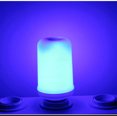 Novelty Flame LED Lights Suitable For Night Light Party,Bar,Garden,Home Decoration blue 6*12cm 3w